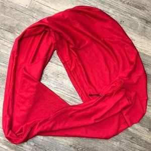 Accessories - New infinity scarf with hidden zip pocket